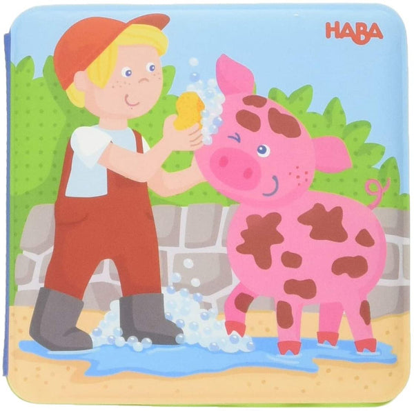 Magic Bath Book Farm Animal Wash Day