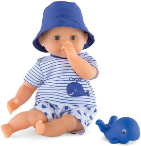 Bath Baby Doll Blue Marin 12""