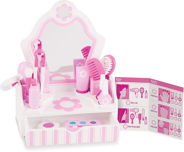 Beauty Salon Wood Playset