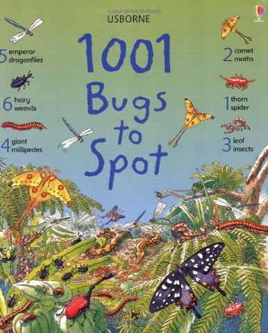 1001 Bugs To Spot Book