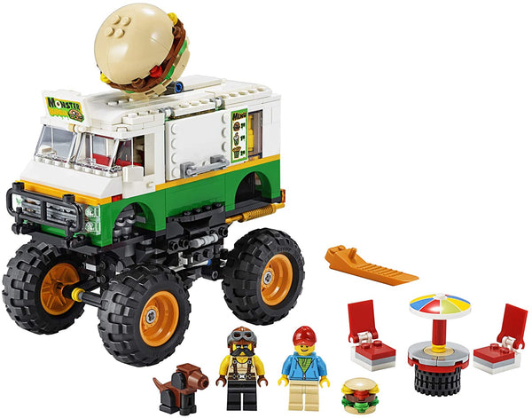 Monster Burger Truck Lego Creator 3 in 1 Set