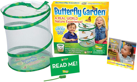 Butterfly Garden  Growing Kit - With Voucher to Redeem Caterpillars Later