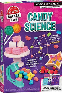 Candy Science Maker Lab Book