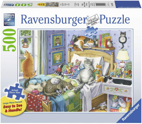 Cat Nap Large Format 500 Pc Puzzle