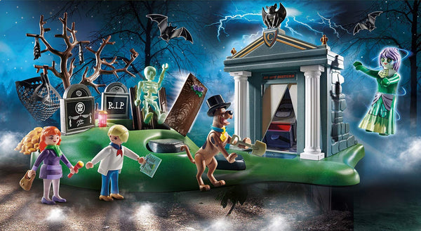 PLAYMOBIL Scooby-DOO! Adventure in The Cemetery Playset
