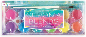 Chroma Blends Pearlescent Watercolor Set 12pc
