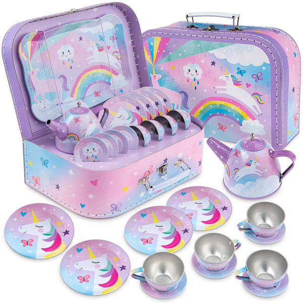 Cotton Candy Tea Set 15pc in Case