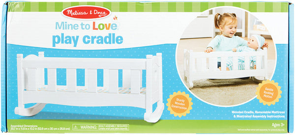 Mine to Cradle Wood Crib
