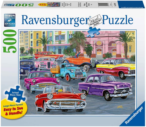 Cruisin' 500 pc Large Format Puzzle