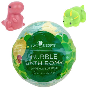 Dinosaur Squishy Bubble Bath Bomb