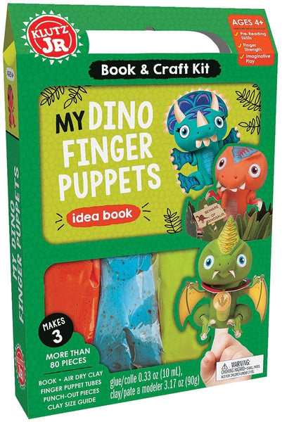 My Dino Finger Puppet Kit