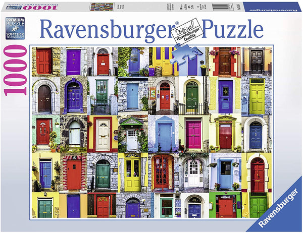 Doors of the World 1000pc Jigsaw Puzzle