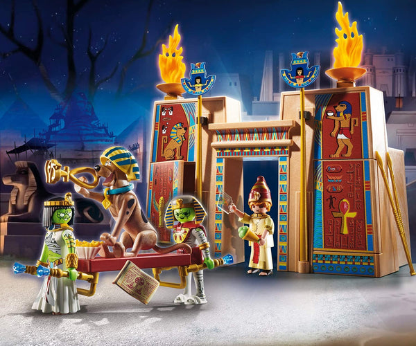 PLAYMOBIL Scooby-DOO! Adventure in Egypt Playset