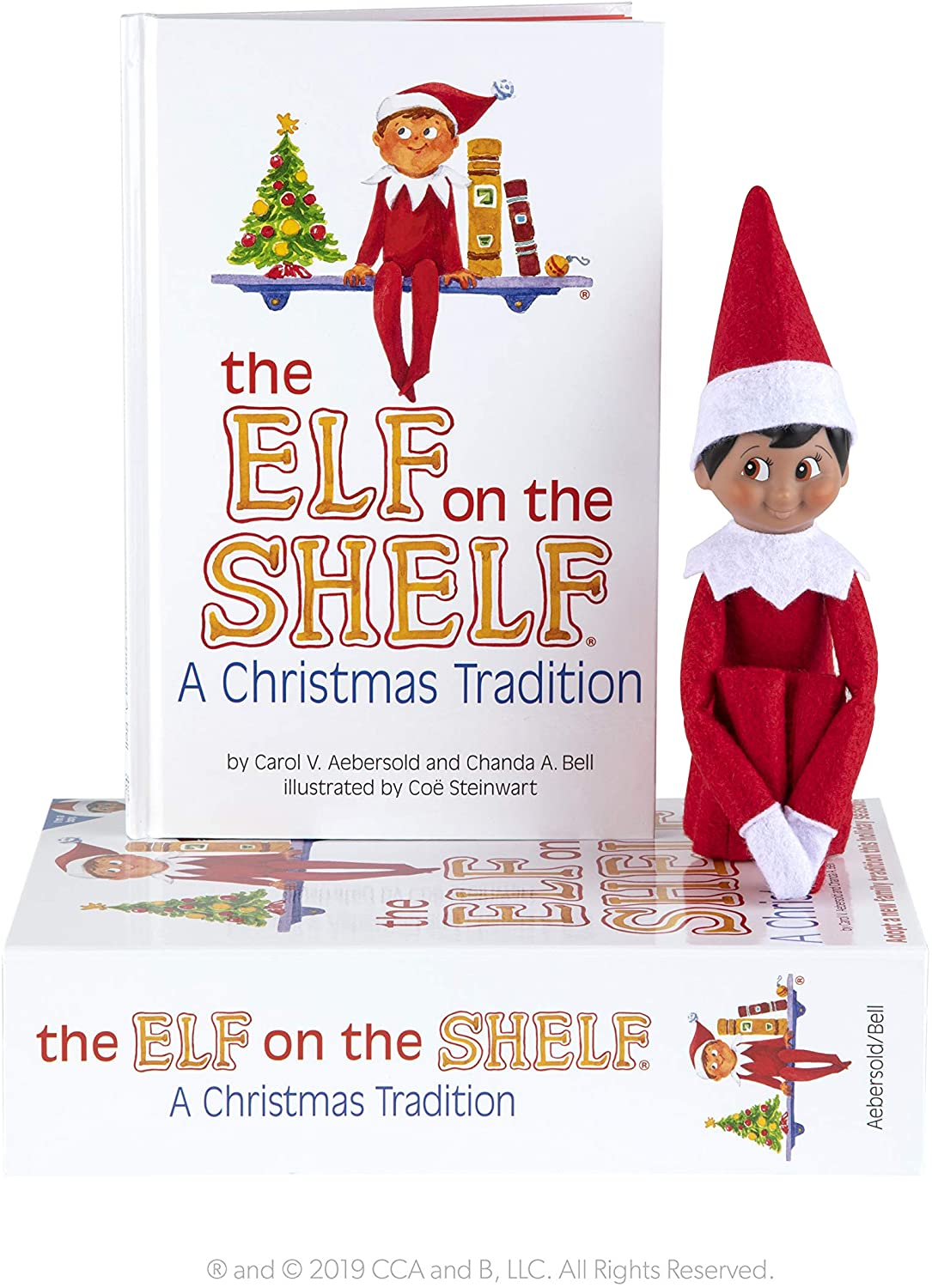Elf on the Shelf Boy Dark Skin