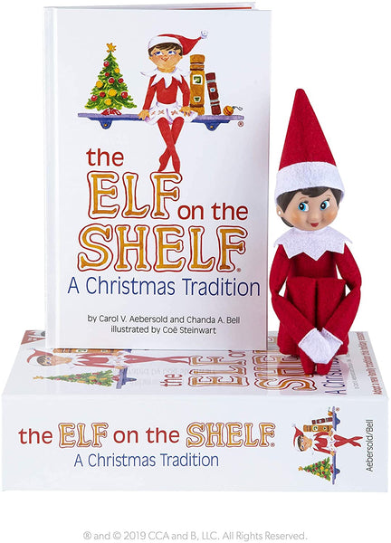 Elf on the Shelf Girl Light Skin