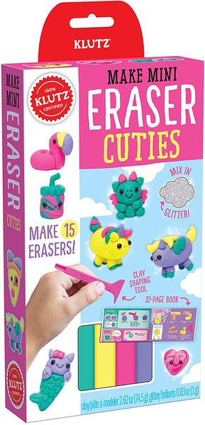 Make Mini Eraser Cuties Glitter