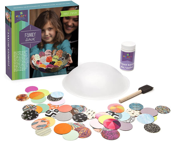 Craft-tastic Make a Family Bowl Kit