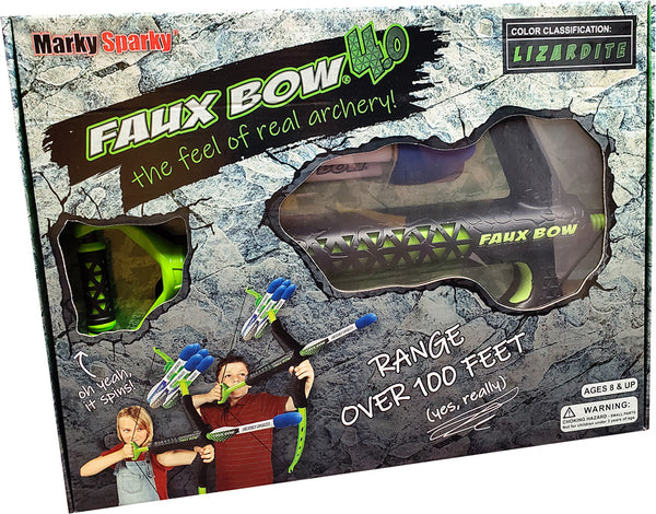 Faux Bow 4.0 Lizardite Green/Black