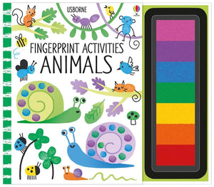 Fingerprint Activities Animals Book