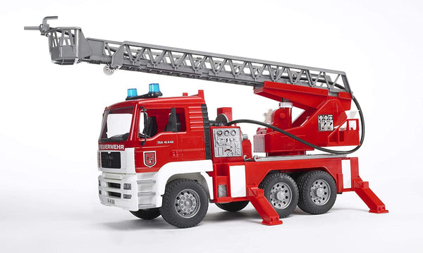 Bruder Light and Sound and water pump Fire Engine