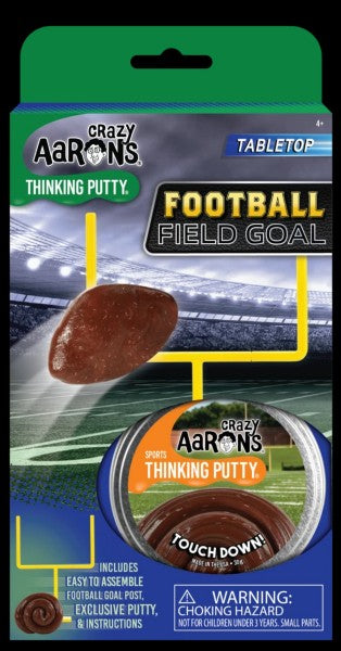 Football Field Goal Sports Thinking Putty