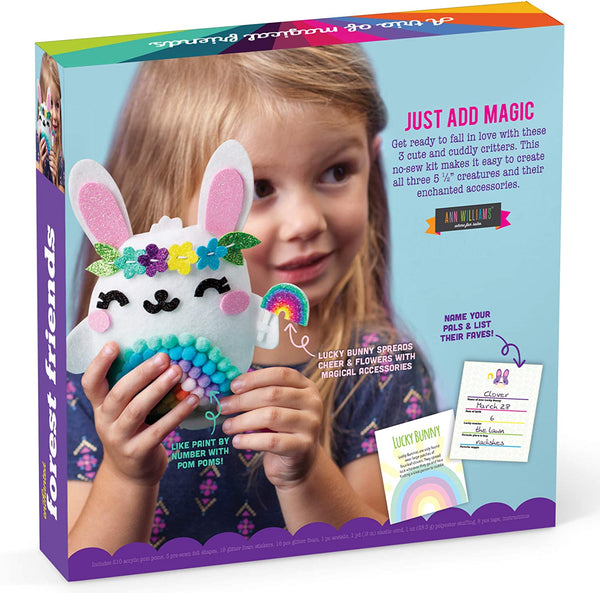Enchanted Forest Friends Pom Pom Kit