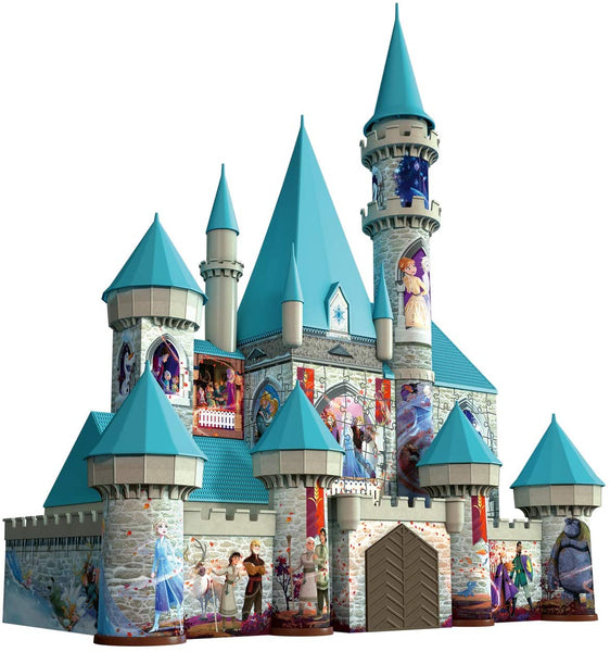 Disney Frozen 2 Castle - 216 Piece 3D Jigsaw Puzzle for Kids and Adults -