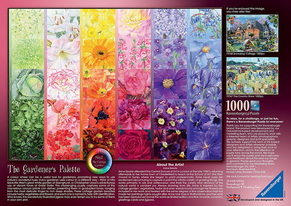 The Gardener's Palette 1000pc Jigsaw Puzzle