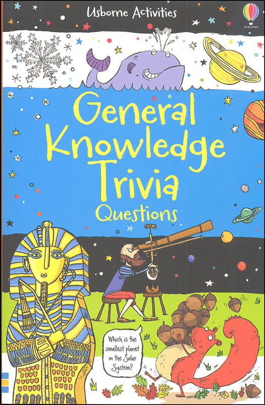 General Knowledge Trivia Quizzes Book