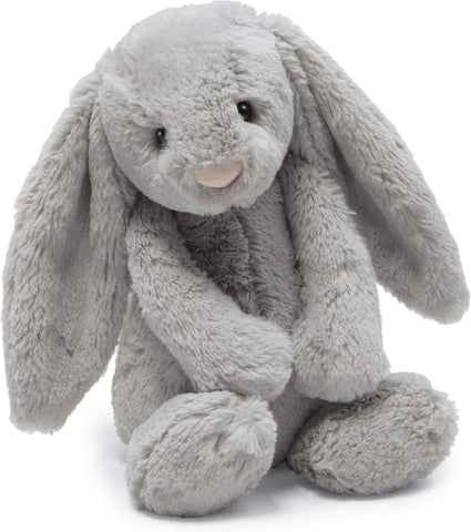 Bashful Grey Bunny Medium 12""