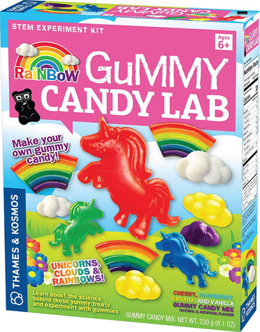 Rainbow Candy Gummy Lab