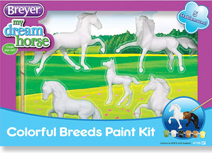 Horse Crazy Paint Kit 5 Stablemates