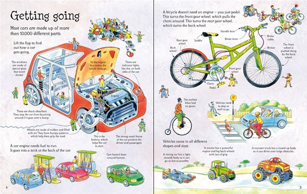 How Things Work Lift a Flap Book