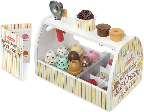 Scoop and Serve Ice Cream Counter Set