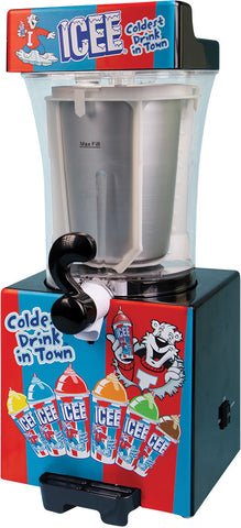 ICEE Slushie Making Machine Combo Set special ( includes  Slushie Machine, syrup 2 pack , Icee cups, and Straws)