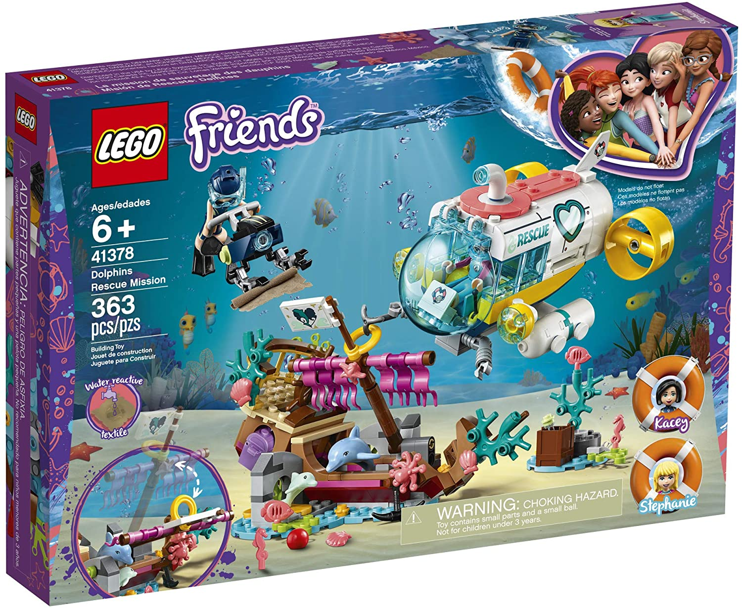 Dolphin Rescue Mission Lego Friends