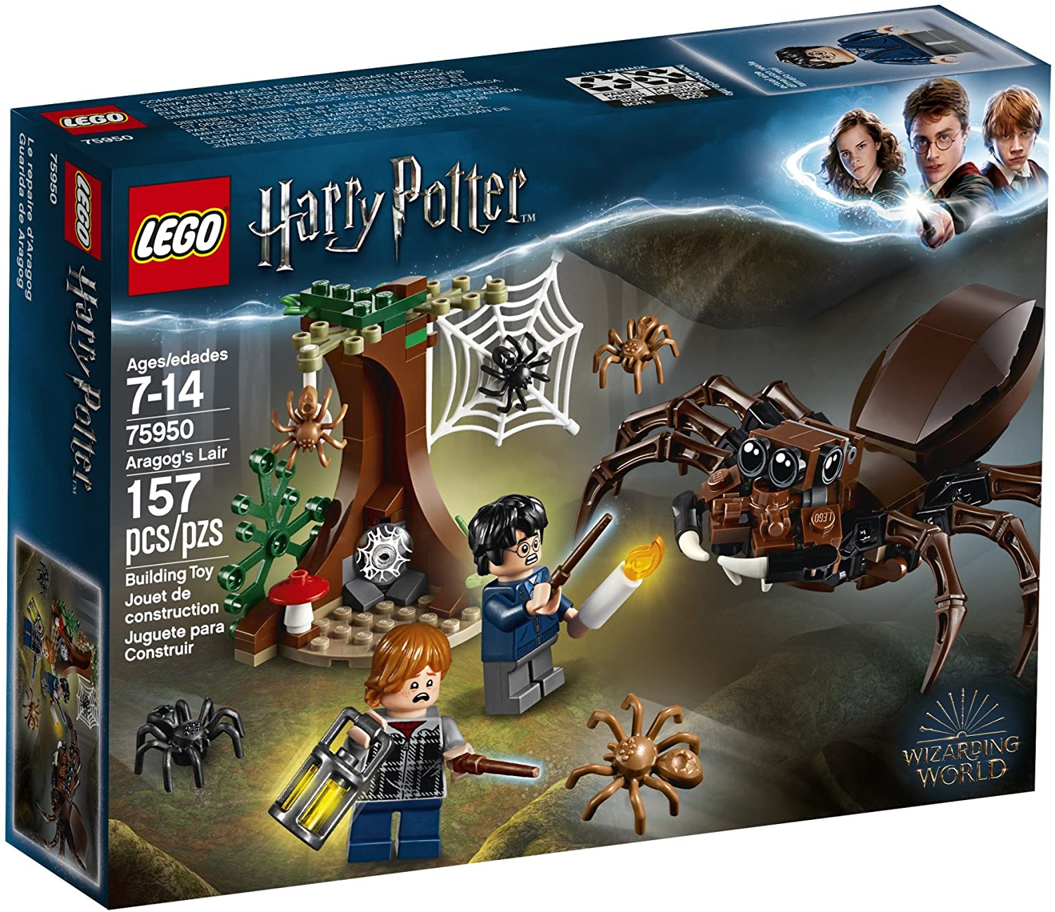 Lego Harry Potter Aragog's Lair