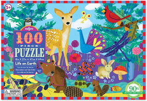 Life on Earth Puzzle 100pc