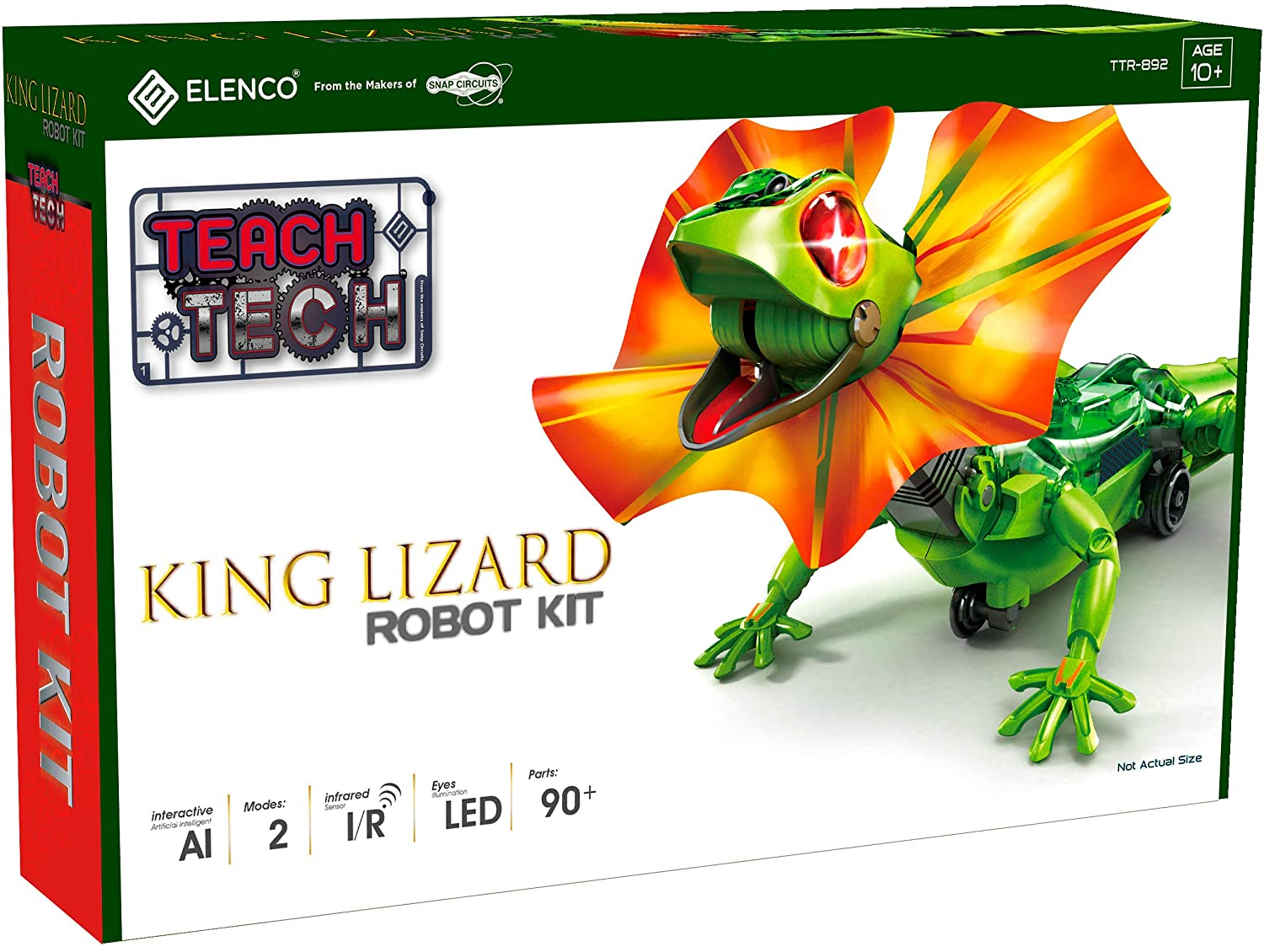 King Lizard Robot Teach Tech kit