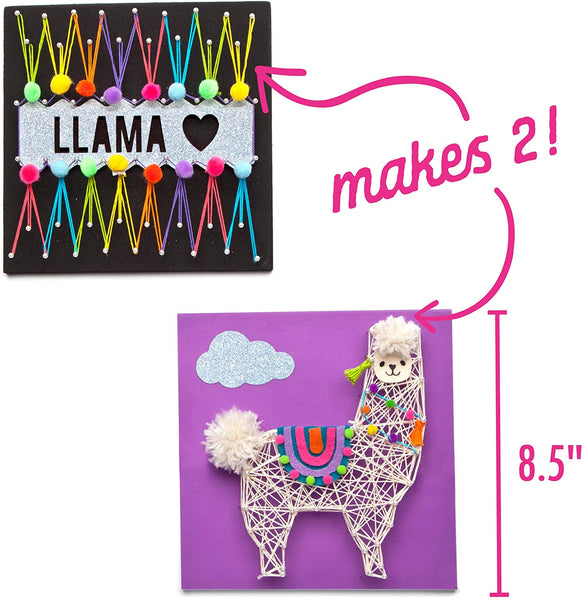 Craft-tastic String Art Llama