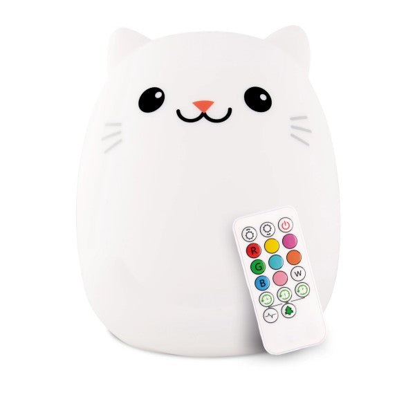 Cat Lumipet Night Light LED with remote