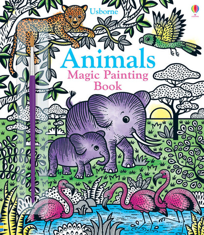 Magic Painting Book : Animals