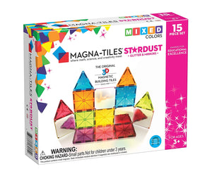 Magnatiles Star Dust 15pc set