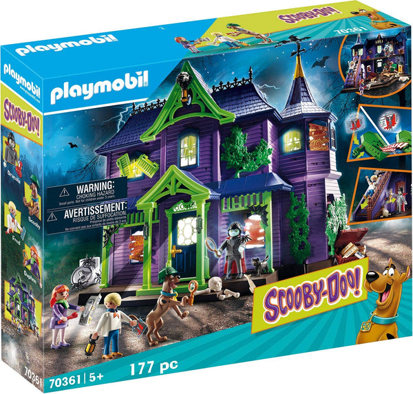 PLAYMOBIL Scooby-DOO! Adventure in The Mystery Mansion Playset