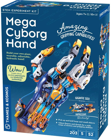 Mega Cyborg Hand STEM Experiment Kit