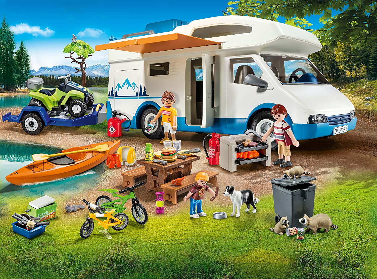 Camping Adventure Playmobil Mega Set