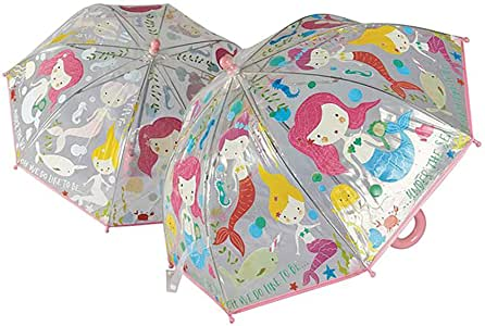 Mermaid Color Change Umbrella