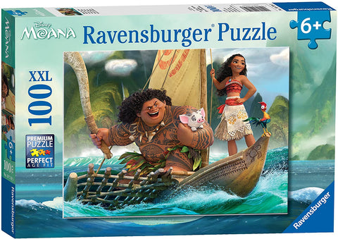 Moana and Maui Puzzle 100pc