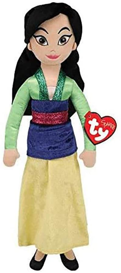 Mulan Disney Plush Princess Doll TY