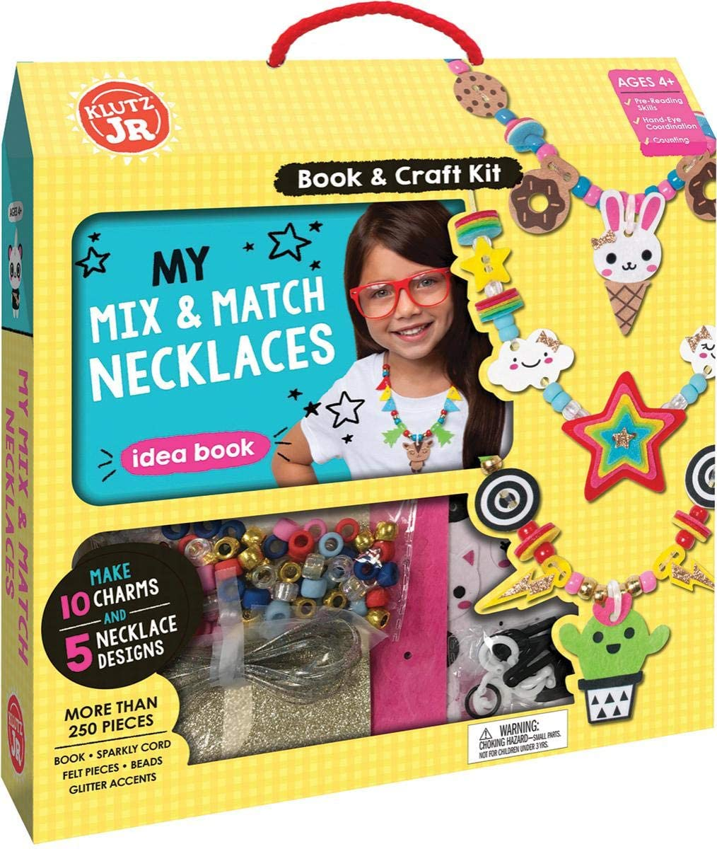 My Mix and Match Jewelry Kit Jr. -Making Necklaces
